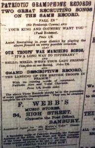 Patriotic Records - November 1914