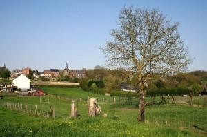 The Village of Saint-Denis, near Mons, Belgium