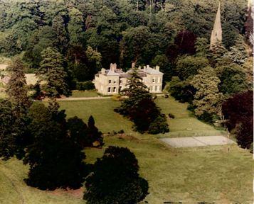 Ariel View of Bitham Hall