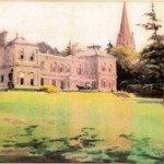 Watercolour of Bitham Hall