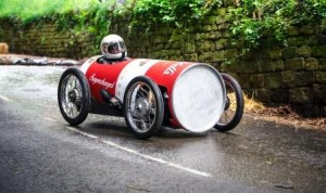 Colin Smith in Soup Can Soap Box
