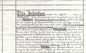 Original Deed of Gift, 1898