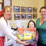 Sarah and Rosie Rutherford winners of the Tea on the Beach hamper