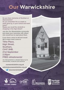 Our Warwickshire Orbit Southam Poster (1)