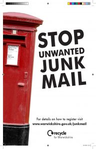 Junk Mail A4 Poster PRINT
