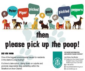 Peter Piper Dog Poop Poster SEP16
