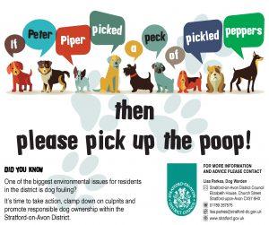 Peter Piper Dog Poop Poster SEP16
